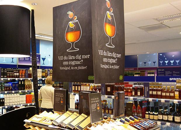 Systembolagets kampanj om cognac