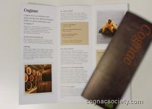 Systembolagets nya informationsfolder om cognac