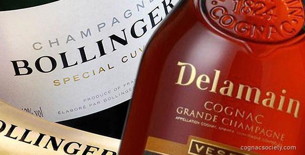 Bollinger Champagne Delamain Cognac